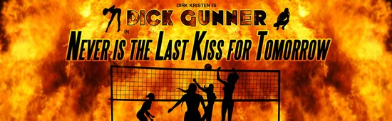 Dick Gunner: Never Is The Last Kiss For Tomorrow Panel 2