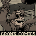 Claude TC's Gronk Comics - Reckless Youth, Ebon Spire